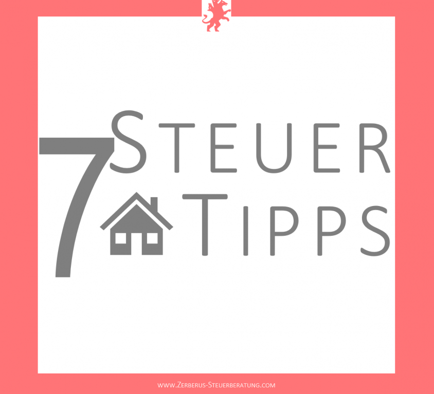 Steuertipps Immobilien